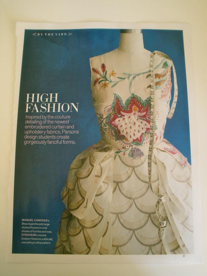 Parsons dress