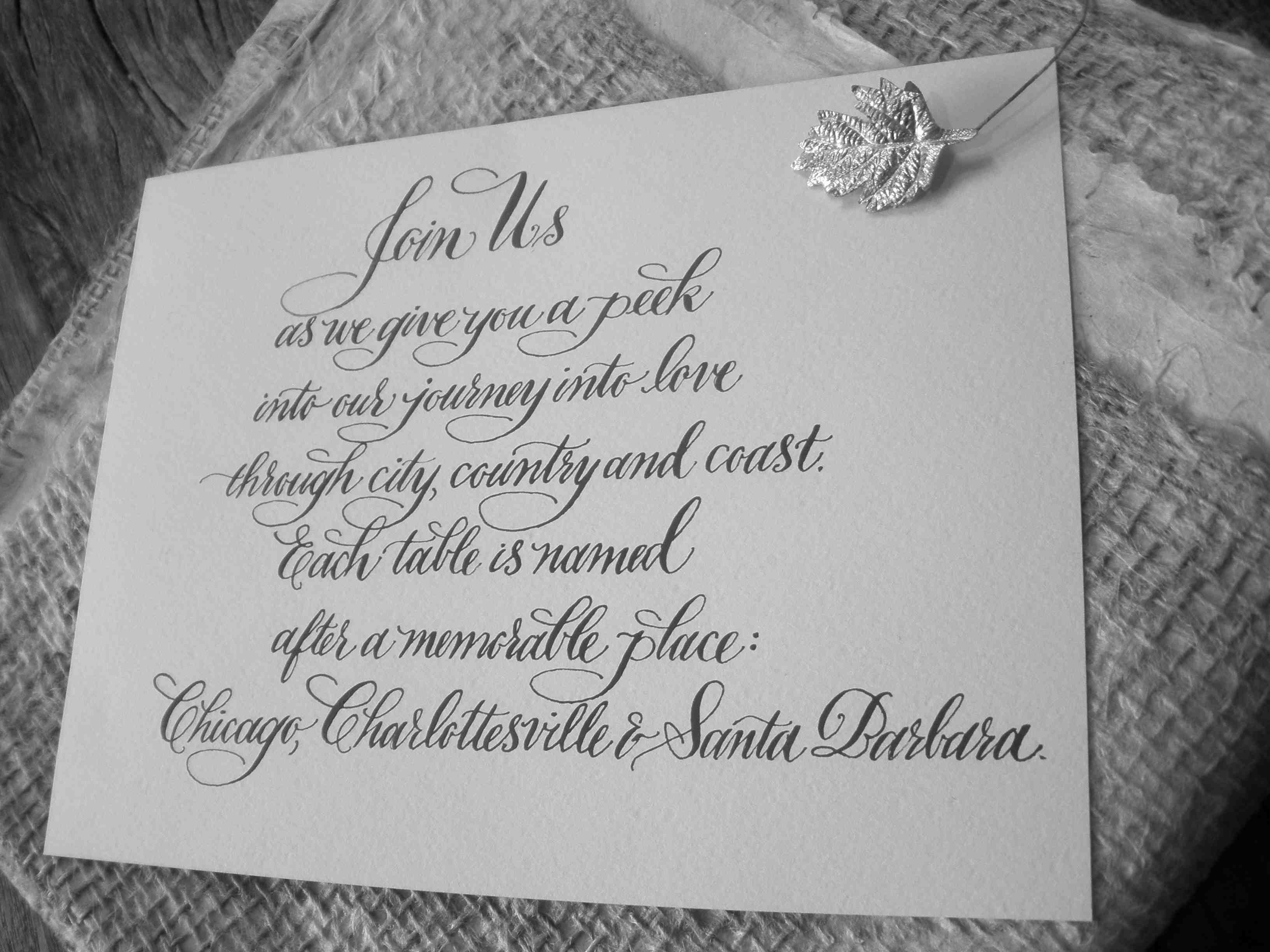 wedding table card designsgirl
