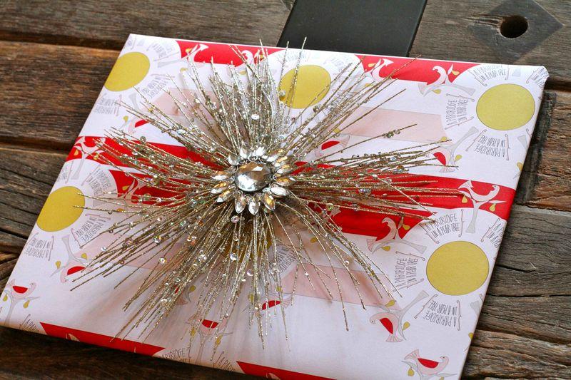 Gift wrap sparkle