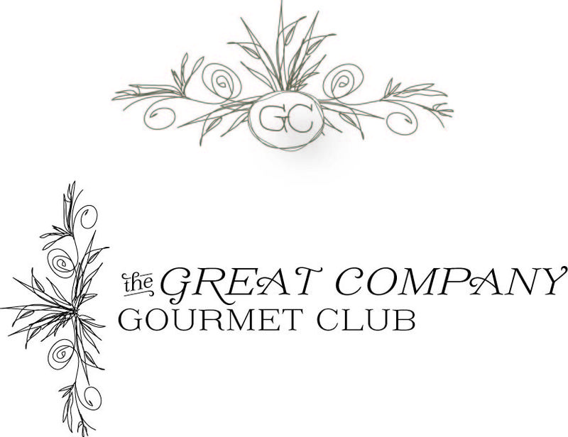 Great company gourmet club logos 2