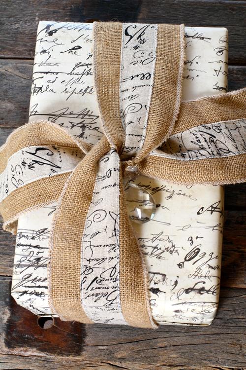 Calligraphy script wrap