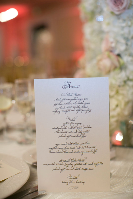 Marissa menu